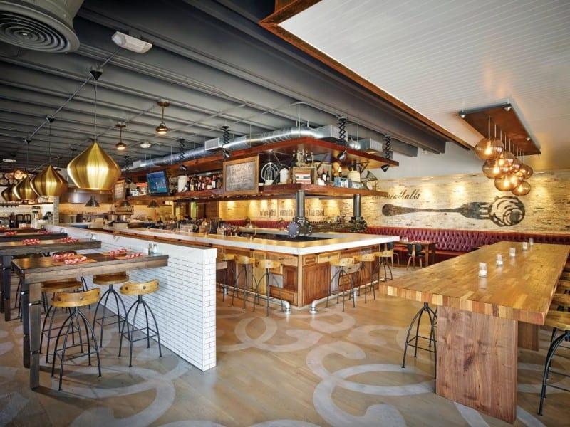 Fork & Balls - Fort Lauderdale, FL - Restaurant design by Bigtime Design Studios