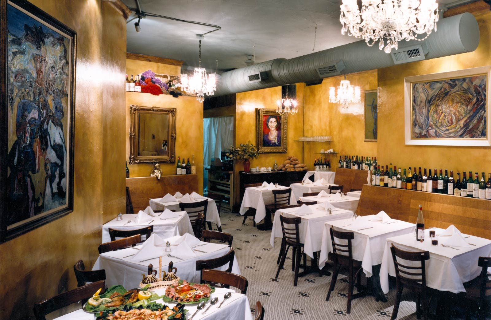 angelina ristorante - restaurant designbigtime design studios