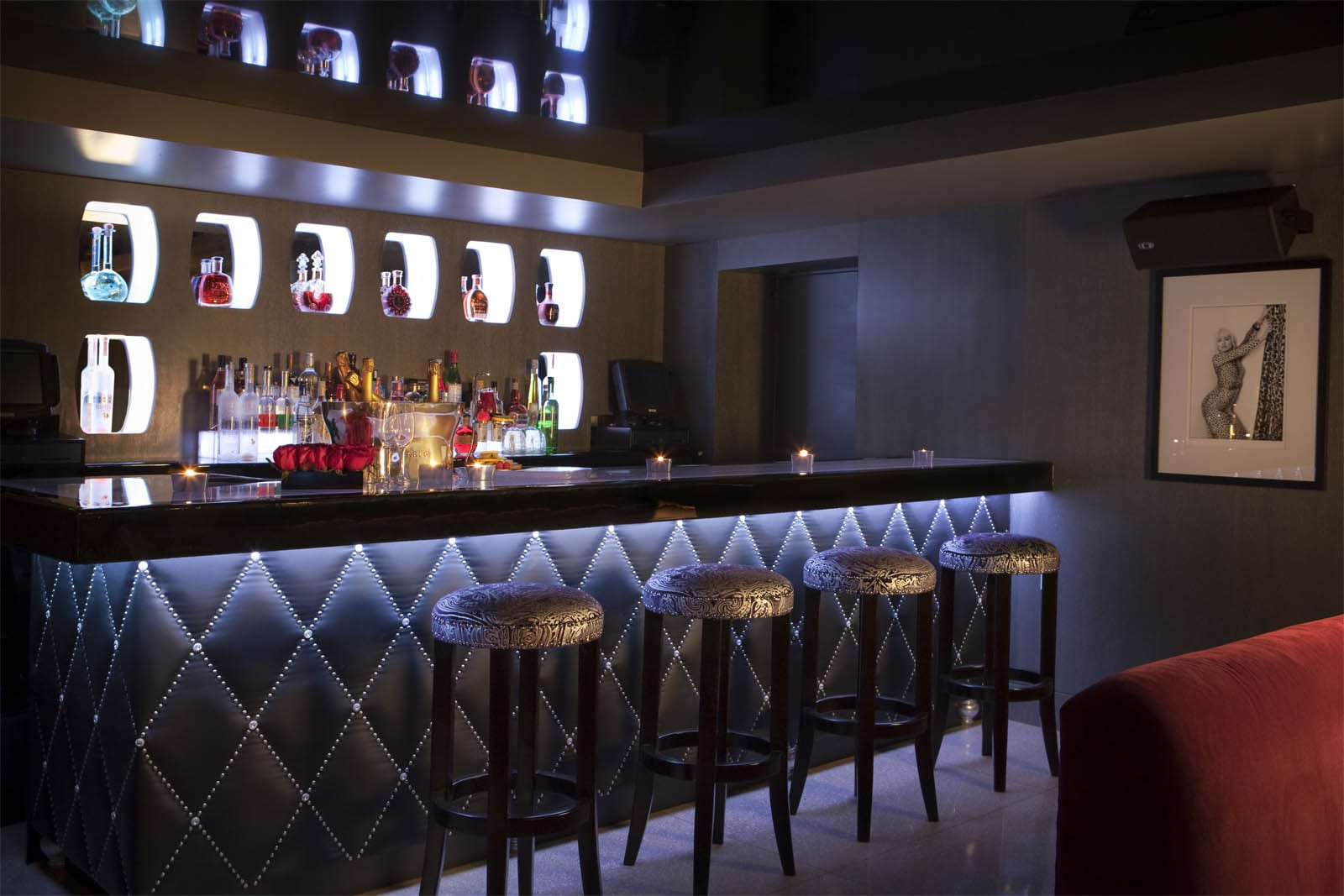 b bar at the betsy hotel hotel restaurant nightclub design by