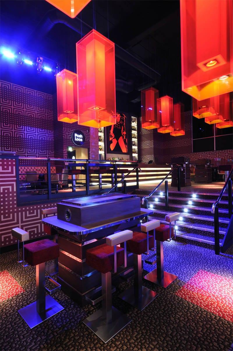 gatecrasher hotel restaurant nightclub design by big