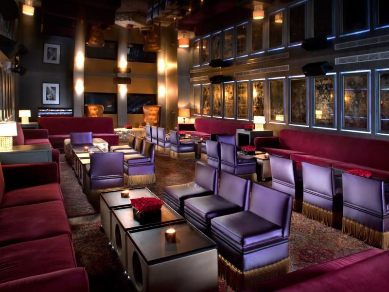 B Bar at The Betsy Hotel - Miami, FL - Nightclub Design by Bigtime Design Studios