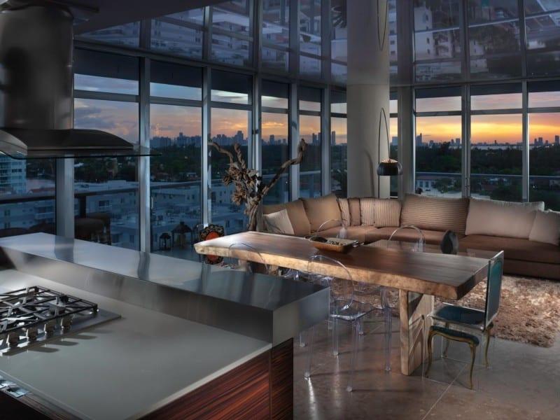 Cape Town Miami Condo - Residential design by Bigtime Design Studios