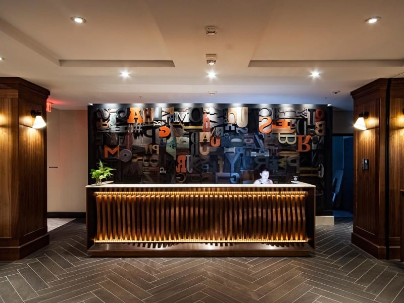 Press Hotel - Portland, ME - Hospitality & Hotel Design by Bigtime Design Studios