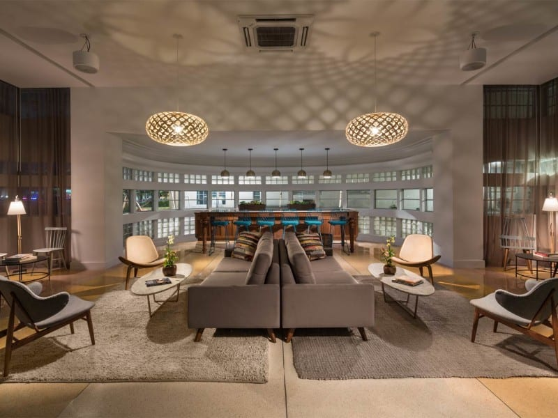 Washington Park - South Beach, FL - Hotel Design by Bigtime Design Studios