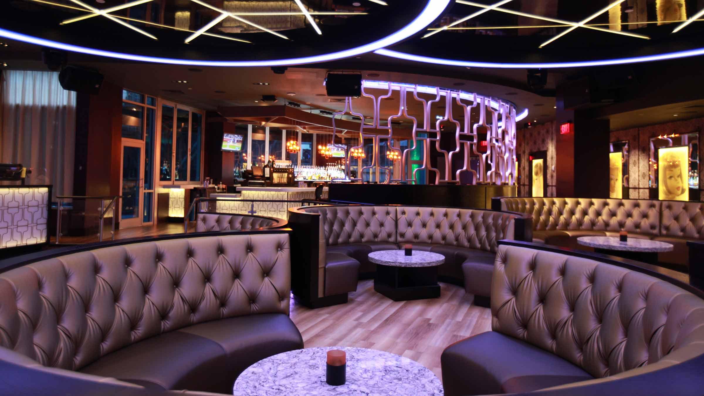Restaurant hotel nightclub design by bigtime design for Hotel club decor