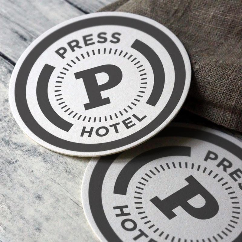 Press Hotel Coaster Concepts