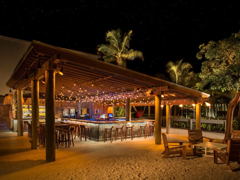 Tiki Bar at the Postcard Inn Resort - Islamorada, FL