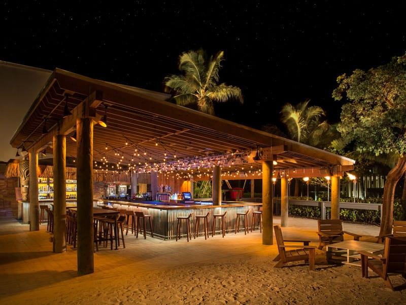 Tiki Bar at the Postcard Inn Resort - Islamorada, FL