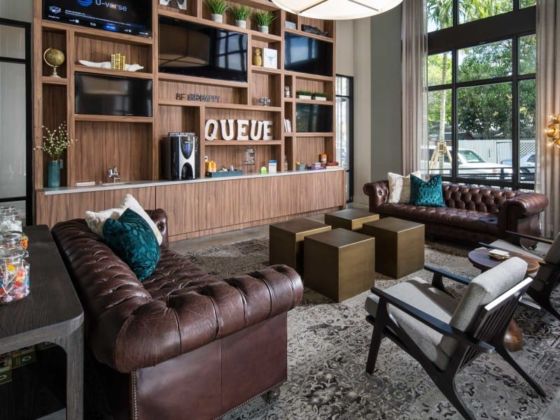 Bigtime Design Studios - The Queue Apartments - Fort Laudedale, FL