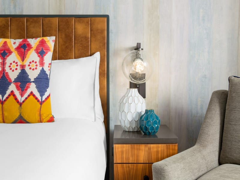 Washington Park Hotel Guestrooms - Design by Bigtime Design Studios