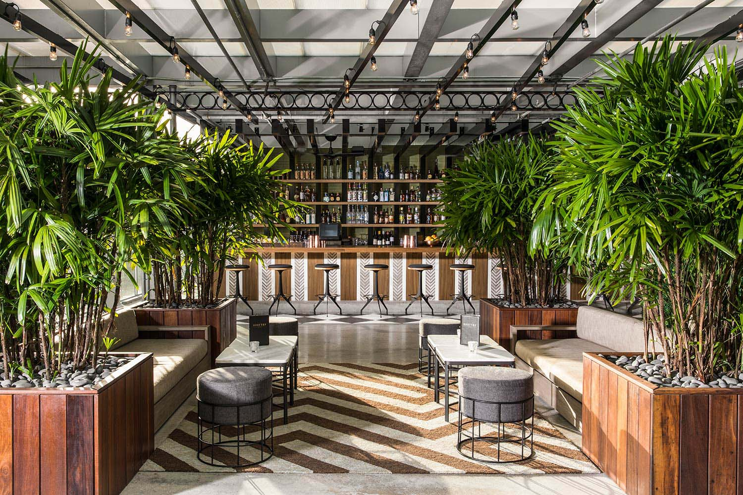 Rooftop 1wlo Hotel Restaurant Amp Nightclub Design By