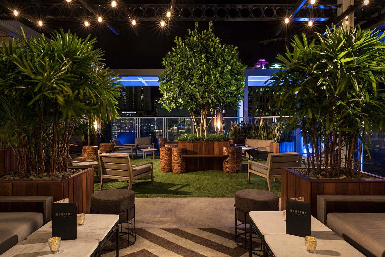 Rooftop 1wlo Hotel Restaurant Amp Nightclub Design By